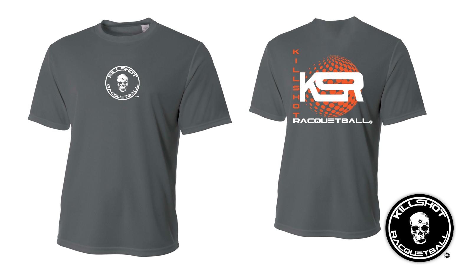 Killshot Racquetball | Performance KSR T Sphere Shirt - Short Sleeve