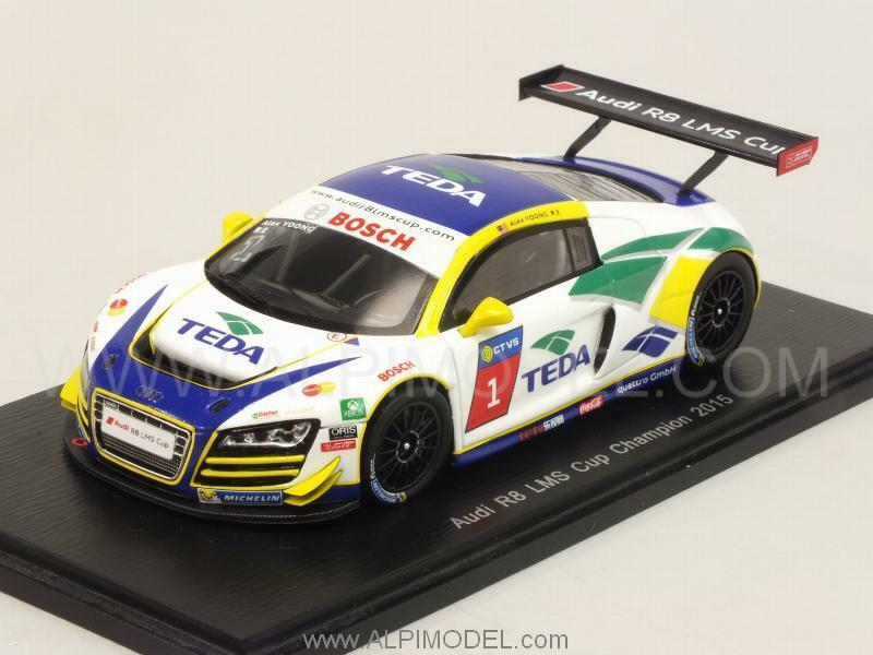 Audi R8 LMS Cup Champion 2015 Alex Joong 1 43 SPARK SA085