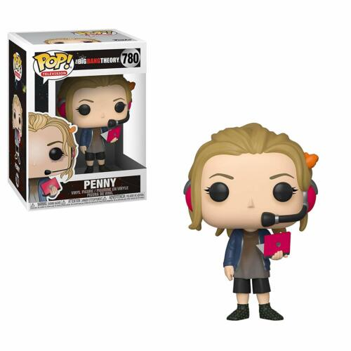 BIG BANG THEORY PENNY 780 38587 VINYL FIGURE IN STOCK TELEVISION FUNKO POP