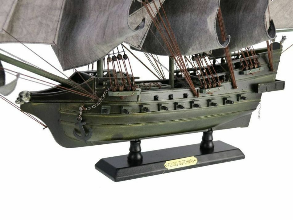 Flying Dutchman Model Ship Pirate Wooden Handcraft Assembled Large 32 Limited For Sale Online Ebay
