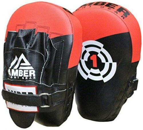 Amber Fight Gear Boxing Focus Mitts MultiColour