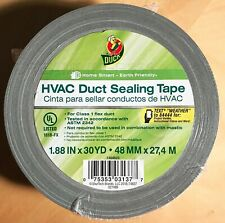 Duck Brand Hvac Duct Sealing Tape Silver 188 Inches X 30 Yards 1 Roll