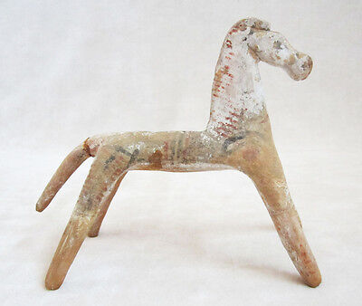 ANCIENT GREEK GEOMETRIC TERRACOTTA HORSE - 8th Century BC