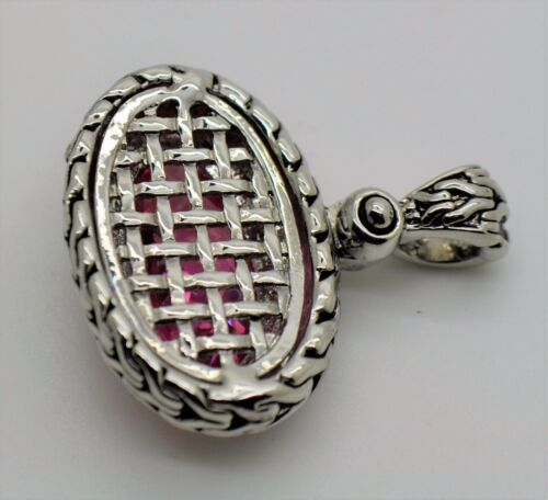 A318 Gorgeous Design Style oval Shape pink cubic zircon fashion jewelry  Pendant