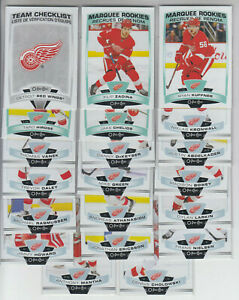 19-20-OPC-Detroit-Red-Wings-Team-Set-w-RCs-Insert-Larkin-Howard-Zadina-RC