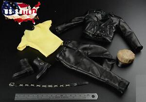1/6 Veste En Cuir Set Pour Negan T-800 Arnold Hot Toys Phicen Figure Masculine ❶ Usa ❶