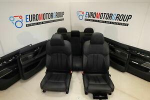 BMW-Pelle-Sedili-7-039-G12-Pelle-Dakota-Nero-Lcsw-Interni-IN-Pelle