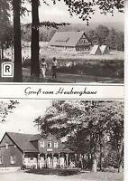 Ansichtskarte - Gruß vom Heuberghaus / Thüringen
