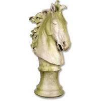 Giant Horse Head Bust Statue Sculpture Suitable For Indoor Or Outdoor Garden Use
