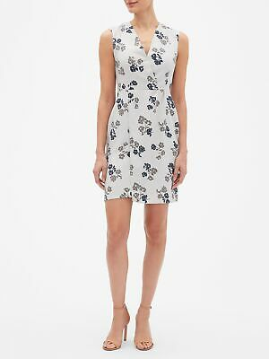 4P Banana Republic Sheath Dress NEW Spring Floral NWT MSRP $89 SZ 00P 8P,10P