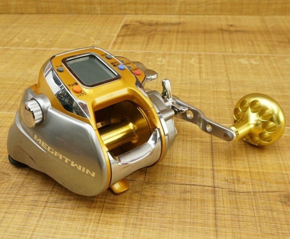 Daiwa SEABORG 500MT Electric Fishing SaltWater Reel Big Game Tested Used