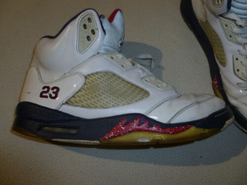 103 136027 Größe V Unabhängigkeitstag 12 23 Nike Air Jordan Retro Olympischer 5 Vintage UqwO4TAzxx