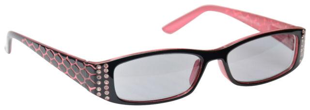 UV Reader Sun Readers Reading Glasses Sunglasses Womens Ladies Pink UVSR001