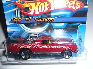 Mattel-Hot-Wheels-039-69-El-Camino-H9079-Light-Brown-New-Boxed-Car-Toys-Short-Card