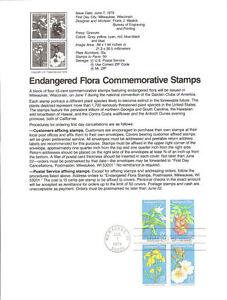 7909-15c-Endangered-Flora-B4-1783-1786a-USPS-Souvenir-Page