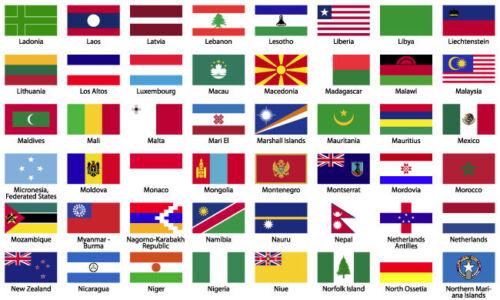 4X ENGLAND FLAG STICKERS UNION JACK MOTORBIKE HELMET CAR VAN ALL COUNTRY FLAGS 2