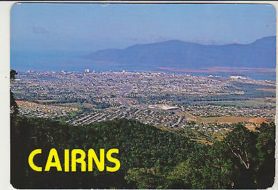FROM SCENIC DRIVE OVERLOOKING CAIRNS QUEENSLAND AUST COLLECTORS CHOICE POSTCARD