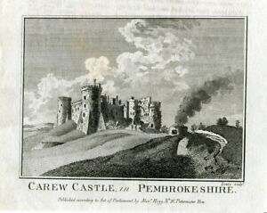 Inglaterra-Carew-Castle-IN-Pembrokeshire-Over-Artwork-Of-Lowry-Issued-By-Ale