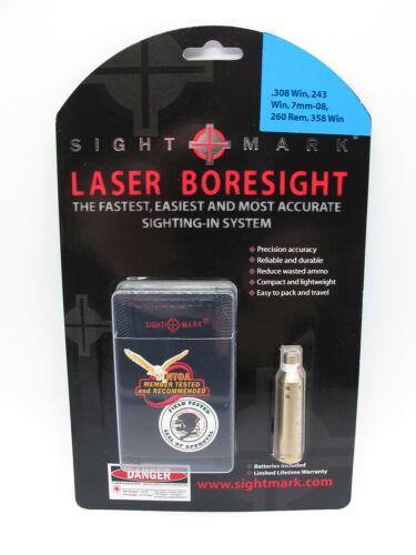 Sightmark boresight sm39005 LASER einschiesshilfe .243//.308//7.62x54