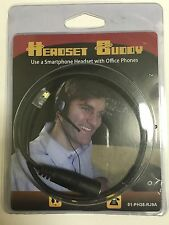 Headset Buddy: IP Headset Adapter, RJ9/RJ10/RJ22 Headset Plug