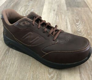 New-Balance-MW928-V2-Brown-Leather-Lace-Up-Athletic-Walking-Shoes-Men-039-s-Size-11