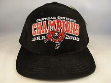 NFL Tampa Bay Buccaneers Central Division Champions Vintage Strapback Hat Cap