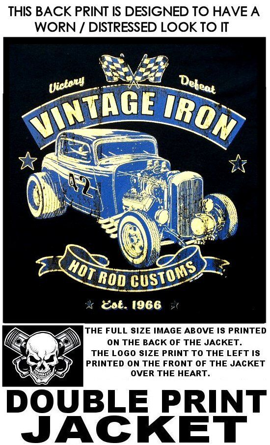 Vintage Hierro caliente Rata  Varilla Street Rod Coupe Race Chaqueta Soplador Personalizado Hemi 592  Web oficial