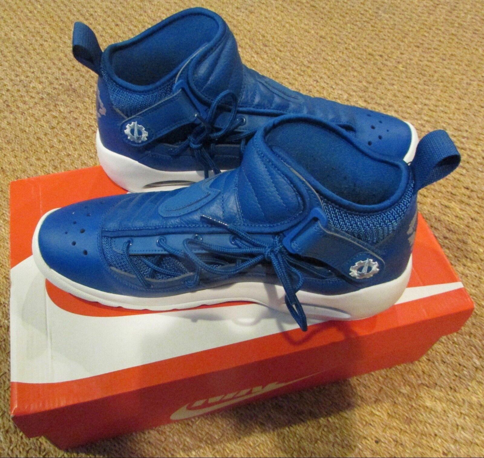 Nike Air Shake Shake Shake Ndestrukt Uomo Scarpe Blue/White 880869-401 Taglia 11 Rodman 42b56b