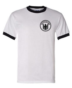 a88df7d96 Image is loading Retro-West-Germany-Football-Shirt-World-Cup-1974-