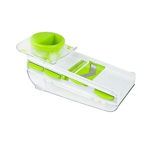Paderno World Cuisine 5 Blade Mandolin With Storage Container Grater Slicer 803118821761 Ebay