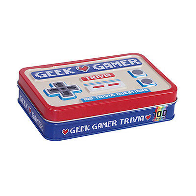 Geek Gamer Trivia Quiz Set by Gift Republic