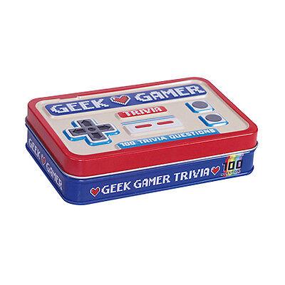 Geek Gamer Trivia Quiz Set by Gift Republic