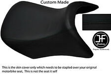 BLACK AUTOMOTIVE VINYL CUSTOM FITS BMW R 1200 RT FRONT RIDER SEAT COVER ONLY