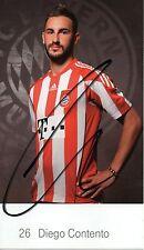 Diego Contento (Bayern München) - 2010/2011 - original - DFB