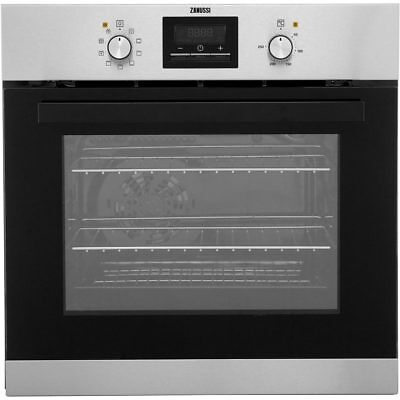Zanussi ZZB35901XC Built In 59cm Electric Single Oven Stainless Steel New