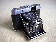Certo Six (6) 120 Film Folding Rangefinder Camera + Tempor, Tessar 2.8/80 Red T