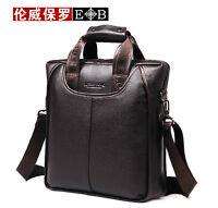 Men's Genuine Leather Handbag Messenger Shoulder Briefcase  BAG Purse 8899