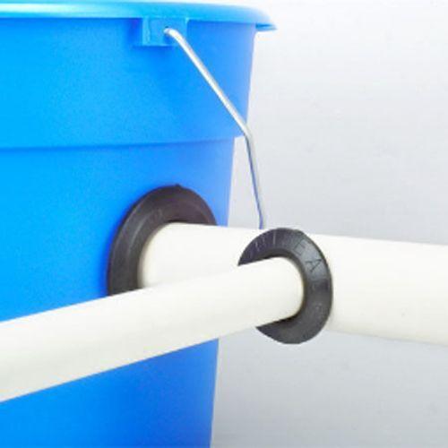 "connector bulkhead alternative hydroponics system seal pipe tank Uniseal 3/"""