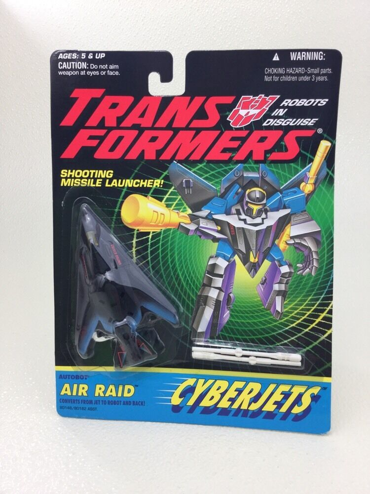 KENNER STANDARD prototype Transformers G2 Air Raid Cyberjet Factory Sample