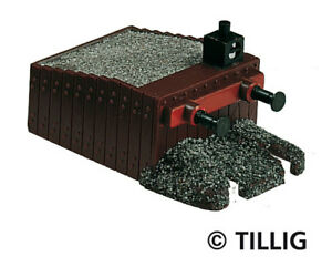 Responsable Tillig 7950 New Buffer Stop Without Track Avec Des MéThodes Traditionnelles
