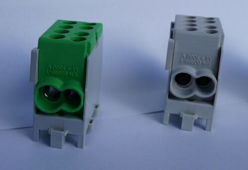 Hauptleitungs-Abzweigklemme POLL HLAK 25 1//2 M2,blau grau grün Leitungsklemme