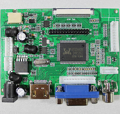 HDMI VGA 2AV  Lcd controller Board VS TY2662 V1 for LCD panel Only driver board