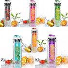 700ML Sport Fruit Infuser Water Cups Juice Bottle BPA Free Filter Bottles INA C
