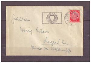 Empire-Allemand-Minr-519-Munster-Westfl-apres-Lingen-Ems-22-10-1940-Wst