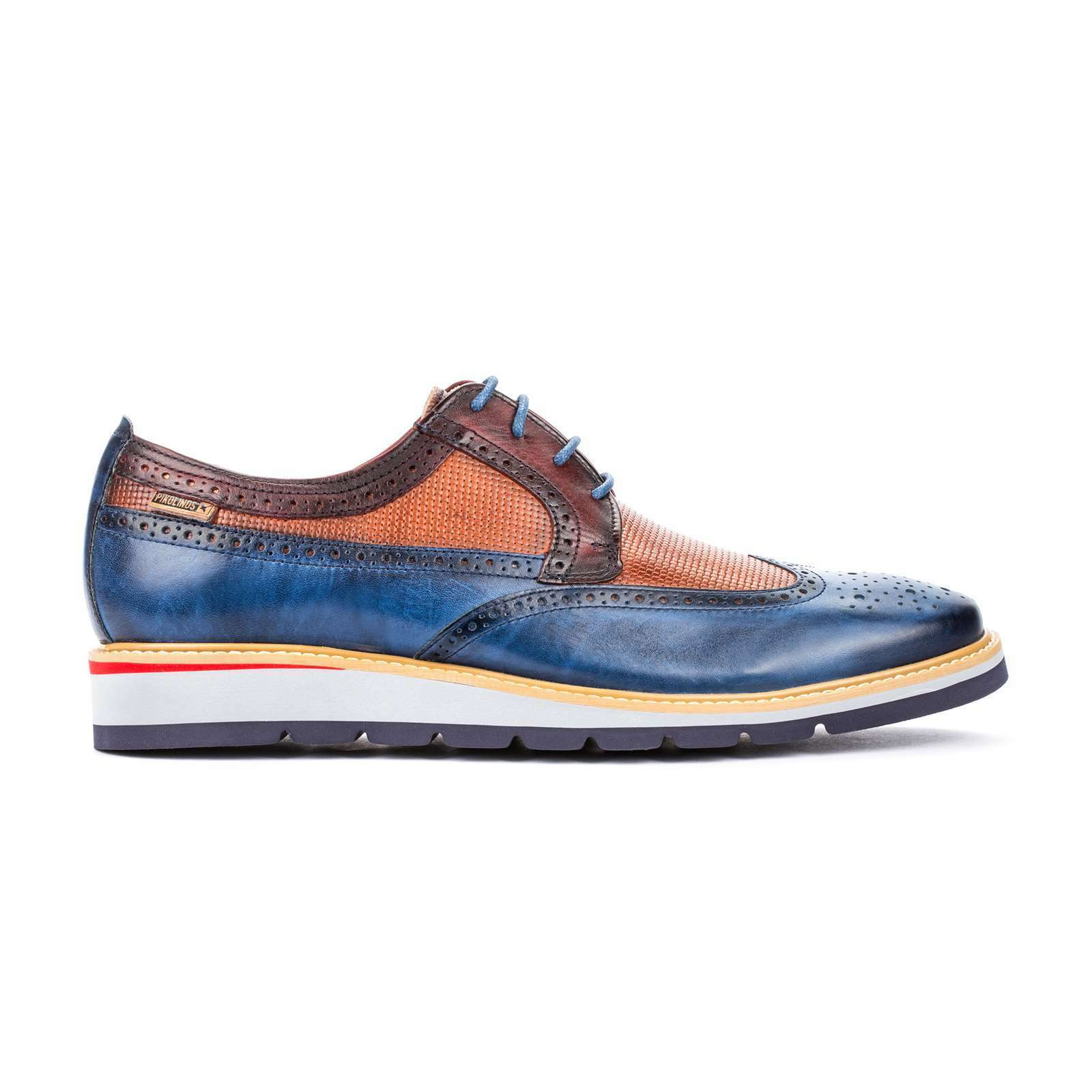 NEW Pikolinos Men's Men's Men's Casual Dress Comfort Toulouse Leather Lace Up Oxford scarpe 6ffccb
