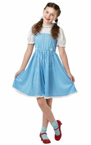 Dorothy Wizard Of OZ Girls Costume Kids Fancy Dress Outfit Book Week Story