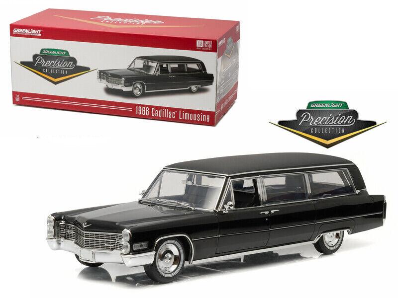 1 18 vertlight Precision collection 1966 ILLAC s&s Limousine noir 18002