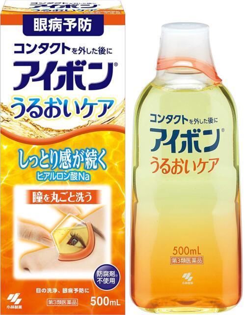 Kobayashi Eyebon Moisture Care Eye wash Liquid 500ml Japan