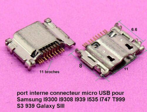 port micro USB Samsung I9300 I9308 I939 I535 I747 T999 S3 939 Galaxy SIII  C62.2