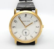 Authentic Estate Audemars Piguet 18K YELLOW GOLD Mechanical WATCH size 8 41.5 gr